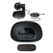 LOGITECH GROUP HD VIDEO & AUDIO CONFERENCING SYSTEM FOR BIG MEETING ROOMS