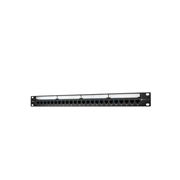 SCHNEIDER CAT.6 UTP PATCH PANEL, LOADED WITH JACK 24-PORT